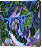 Ernst Ludwig Kirchner Canvas Print