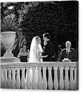 Etzel Mcdougal Wedding Canvas Print
