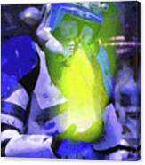 Execute Order 66 Blue Team Commander - Camille Style Canvas Print