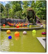 Chihuly Exhibition In The Atlanta Botanical Garden. #01 Canvas Print