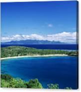 Fiji Wakaya Island Canvas Print