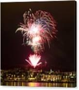 Fireworks Canvas Print