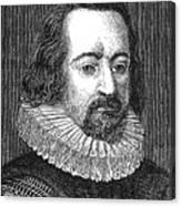 Francis Bacon, English Polymath Canvas Print