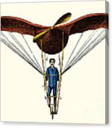 Goupils Flying Machine, 1883 Canvas Print