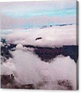 Grand Canyon Above The Clouds Canvas Print