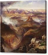 Grand Canyon Of The Colorado River Canvas Print