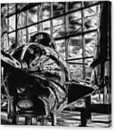 Grumman F9f-8 Cougar Canvas Print