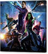 Guardians Of The Galaxy Canvas Print