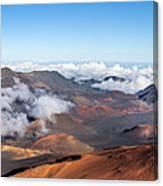 Haleakala Crater Canvas Print
