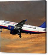 Hamburg International Airbus A319-111  Canvas Print