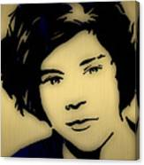 Harry Styles Collection Canvas Print