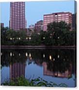 Hartford Skyline Panorama Canvas Print