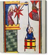 Heidelberg Lieder, 14th C Canvas Print