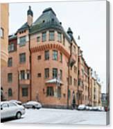 Helsinki At November Canvas Print