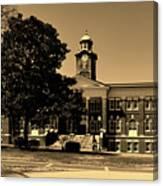 Historic White Hall - Tuskegee University Canvas Print