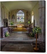 Holy Cross Church, Ramsbury Canvas Print