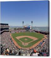 Home Of The San Francisco Giants Canvas Print