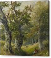 Hopton Wood Canvas Print