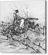 Horserider, C1840 Canvas Print