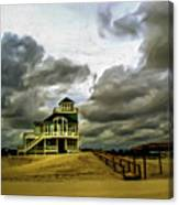 House At The End Of The Road Canvas Print