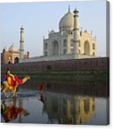 India's Taj Mahal Canvas Print