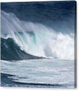 Jaws Wave Canvas Print