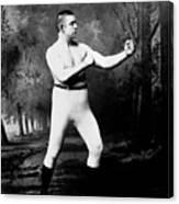 John L. Sullivan (1858-1918) Canvas Print