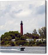 Jupiter Florida Canvas Print