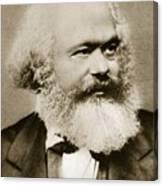 Karl Marx Canvas Print