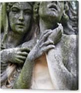 Kerepesi Cemetery, Budapest Canvas Print