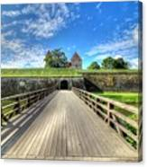 Kuressare, Estonia Canvas Print