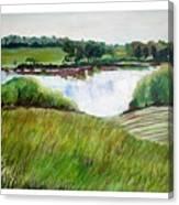Lake Joy Canvas Print
