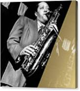 Lester Young Collection Canvas Print