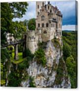 Lichtenstein Castle - Baden-wurttemberg - Germany Canvas Print