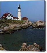 Lighthouse - Portland Head Maine Canvas Print