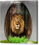 Lion Art Canvas Print