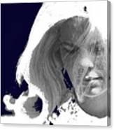 Margie In Repose Tucson Arizona 1969-2012 Canvas Print