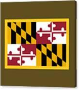 Maryland Flag Canvas Print