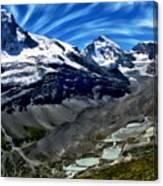Matterhorn Panorama Canvas Print