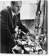 Melvin Calvin, American Chemist Canvas Print