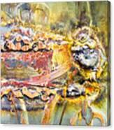 Metal Surface Canvas Print