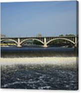 Minneapolis - Saint Anthony Falls Canvas Print