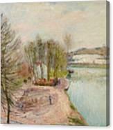 Moret-sur-loing Canvas Print