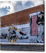 Mural - Downtown Bristol Tennessee/virginia Canvas Print