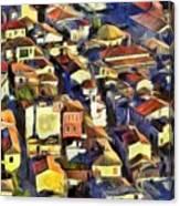 Nafplio Town Canvas Print