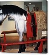 North Dakota Cowboy Hall Of Fame Canvas Print