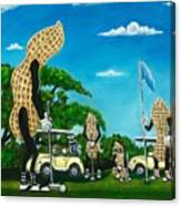 Nutz Bout Golf Canvas Print