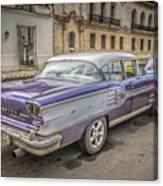 Old Car Canvas Print