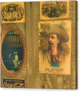 Old West Antiques Canvas Print