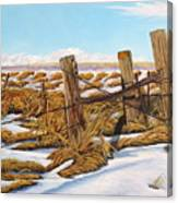 3 Olds Posts 3 Canvas Print